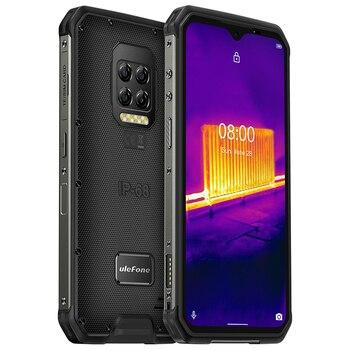 Купить Ulefone Power 9E NFC 8 ГБ + 128 ГБ IP68 противоударный с мобильным телефоном на базе Android 10,0 Восьмиядерный 6600 мАч быстрой зарядки 64MP Камера надежные смартф...