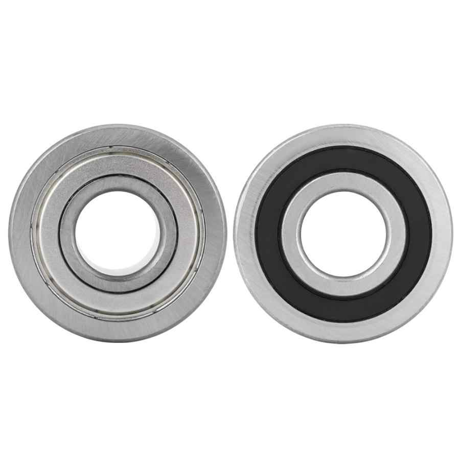 KDD Metal Cover 8x24x11mm 1 pcs Bearing Steel for Industrial LFR50//8-8 take 8mm Rail U Groove Track Guide Track Guide Bearing Roller Bearing