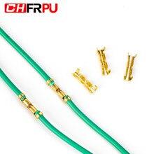 25/50/100PCS U-shaped kleine zähne fascia Butt terminal Quick connect plug-in Draht stecker 0,5-1,5 mm2