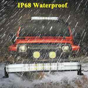Image 5 - Crek 22 32 42 52 Inch Gebogen Led Verlichting Bar 4X4 4WD Suv Atv Offroad Led Bar positie Licht Voor 4WD 4X4 Offroad Suv Atv Truck