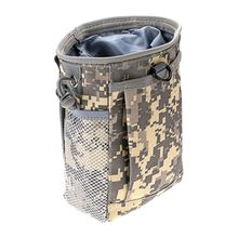 цена на Protable Military Molle Ammo Pouch Tactical Gun Magazine Dump Drop Reloader Pouch Bag Utility Hunting Rifle Magazine Pouch