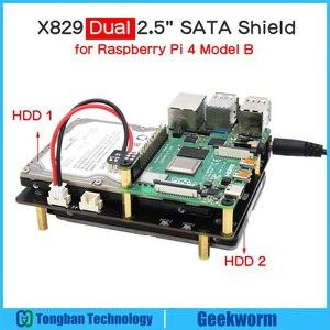 Raspberry Pi X829 Dual 2.5