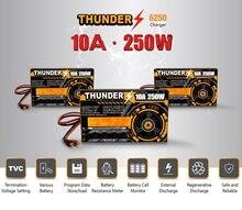 HOTA Thunder شاحن توازن 250 واط 10 أمبير تيار مستمر مع محول 15 فولت 6 أمبير لبطارية LiPo NiCd PB