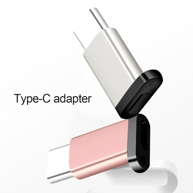Mini USB Type-C Adapter OTG Type-c To Micro USB Converter With Hanging Hole For Mobile Phone Laptop