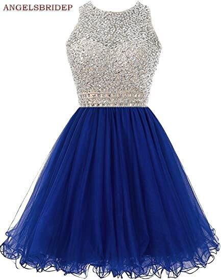 ANGELSBRIDEP-High-Neck-Homecoming-Dresses-Sparkly-Crystal-Beading-Vestidos-de-festa-Tulle-Formal-Graduation-Formal-Party (3)
