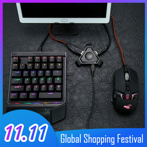 Image 1 - Vococal Wireless Bluetooth Gaming Keyboard Mouse Converter Adapter for Android IOS Apple Mobile Phone Tablet PUBG Survival Rules