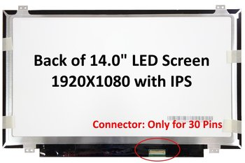 "New 14.0"" IPS FHD (1080P) Laptop LED LCD Screen/Panel Compatible with HP-Compaq ZBOOK 14 Series"