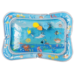 Image 4 - Baby Inflatable Water Play Mat Infant Summer Beach Water Mat Toddler Fun Activity Play Toys for Sensory Stimulation Motor Skills