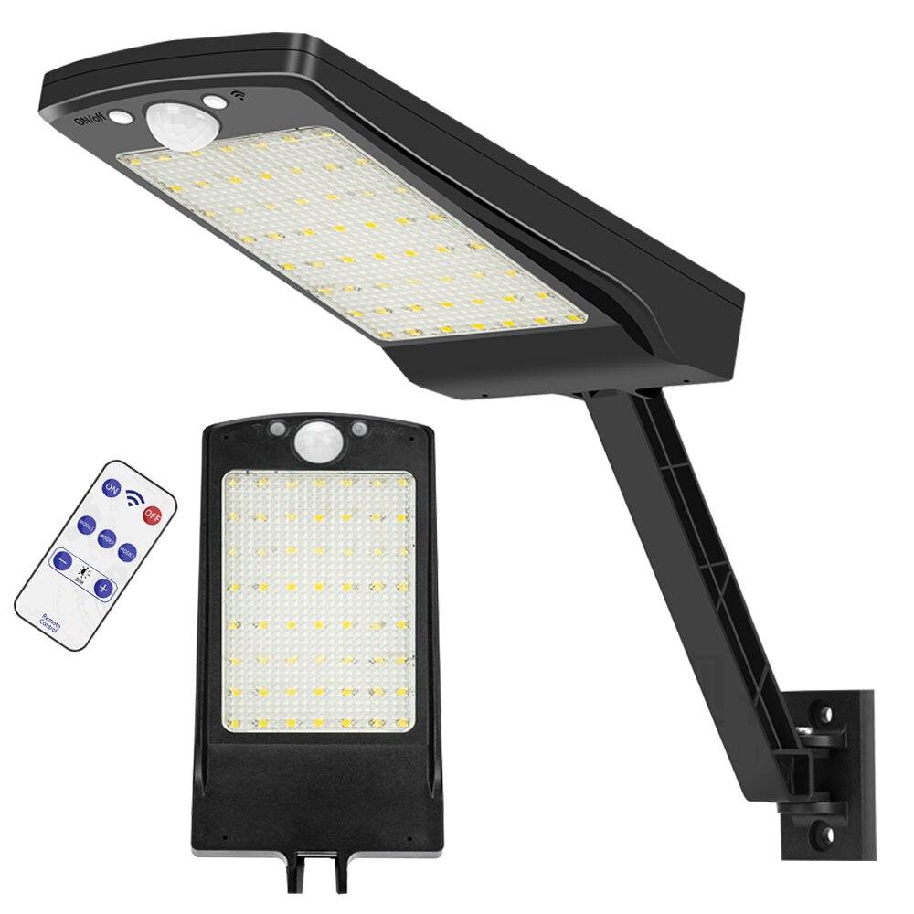 Solar Power 1000LM 15 LED Street Light Flood Lamp Spotlight for Outdoor Garden