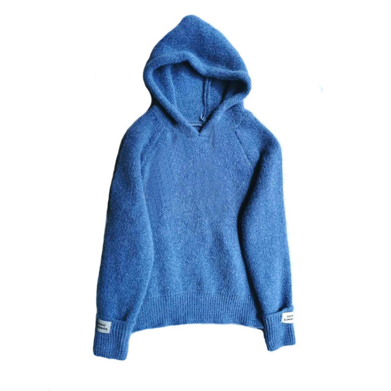 2020 Autumn Winter Children Fashion Clothing Teen Girls Pullover Korean Style Sweater Hooded Casual Kids Girls Sweaters, #1106