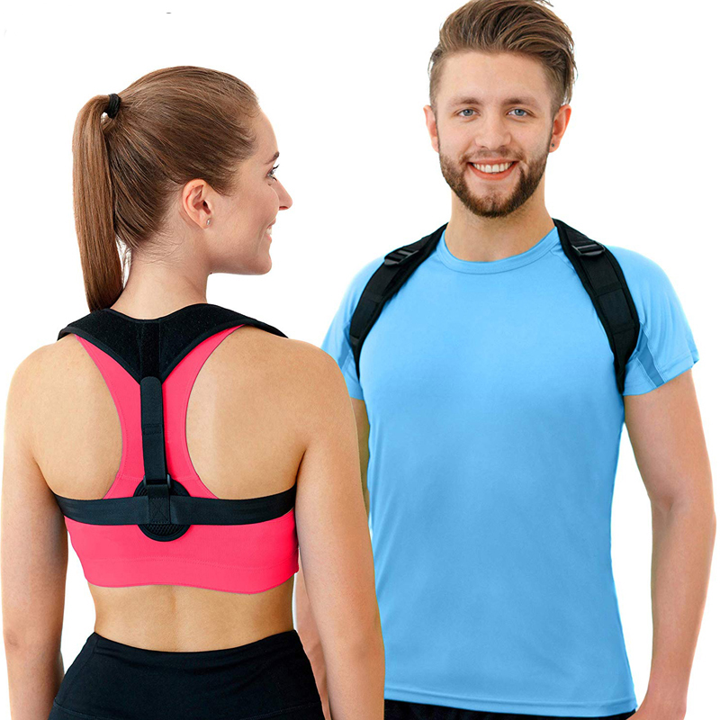 YOSYO Back Posture Corrector Women Men, Prevent Slouching Relieve Pain Posture Straps, Clavicle Support Brace Drop Shipping(China)
