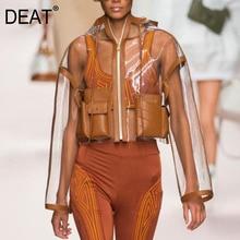 Mode Transparante mouwen Grote