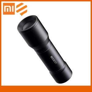 Xiaomi mijia BEEBEST Flashlight Portable 130m Lightweight AAA EDC From Xiaomi Youpin Waterproof SOS Portable Mini electric torch(China)