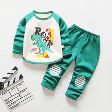 Осень зима 2020 новая одежда для маленьких мальчиков теплая