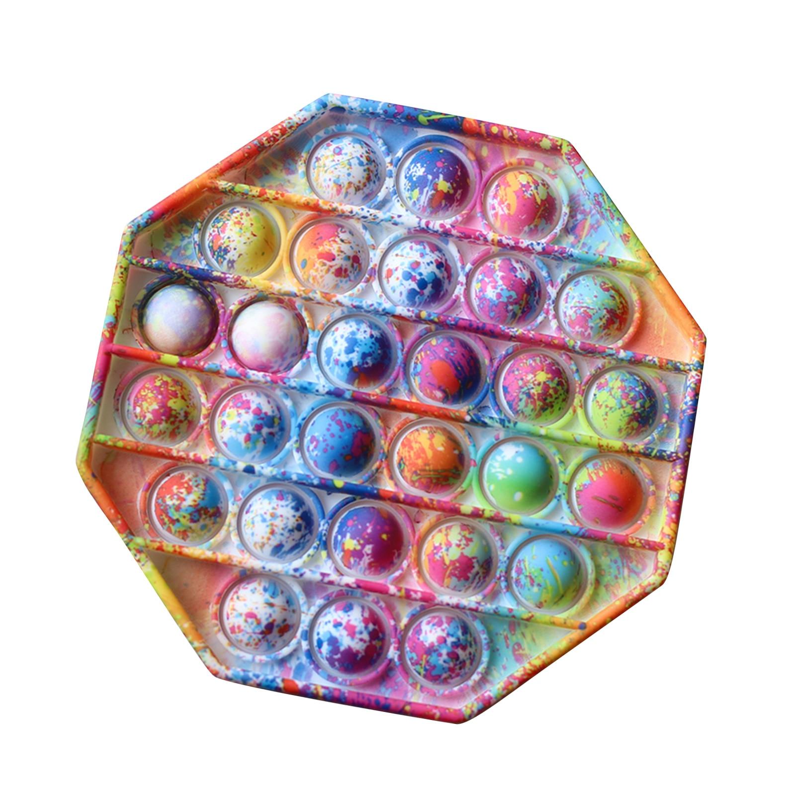2021 neue Push-Pop Pop Blase Sensorischen Zappeln Spielzeug Silikon Stressabbau Spielzeug Squeeze Spielzeug Pop Es Zappeln Spielzeug