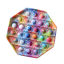 2021 novo push pop pop bolha sensorial brinquedos fidget silicone estresse reliever brinquedo squeever pop it brinquedo fidget