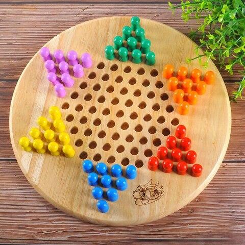 Jogos de Entretenimento Brinquedos de Entretenimento Jogo de Festa Chinês Crianças Adulto Damas Jogo Quebra-cabeça Xadrez Inteligente Brinquedos