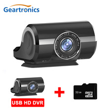 Car DVR ADAS Dash Cam USB dvr dash Camera Mini Portable HD Night Vision Registrator Recorder For Android System