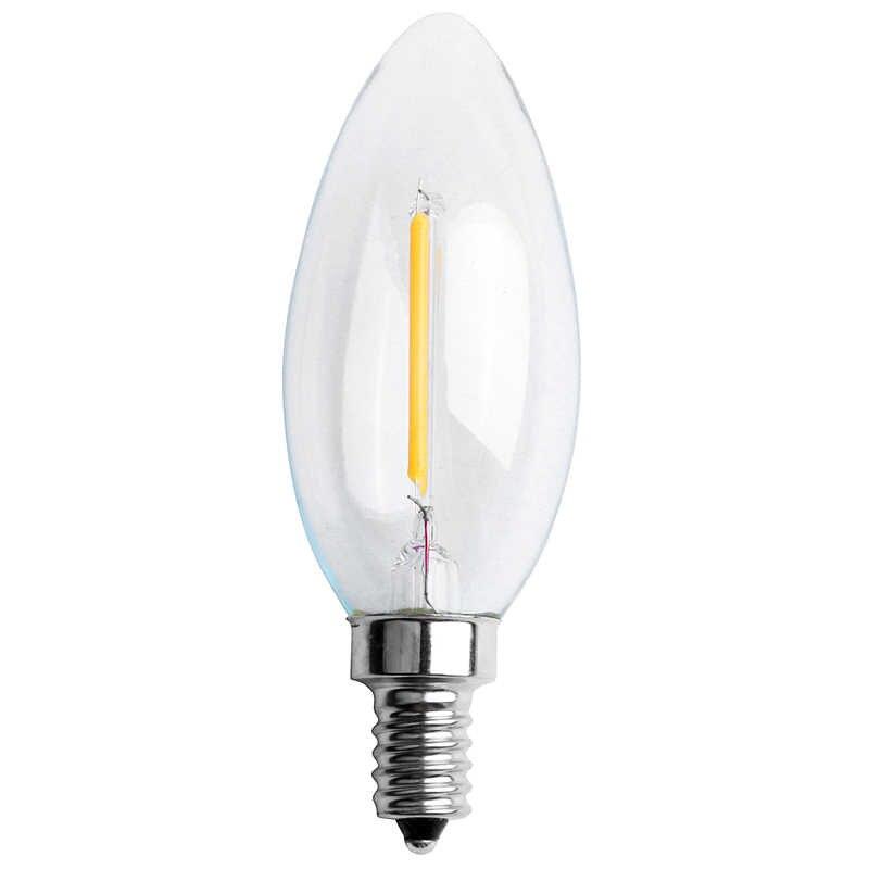 חדש ניתן לעמעום E12 COB אדיסון נר להבה נימה LED אור הנורה מנורה