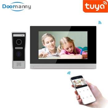 Doornanny 10 Inch Smart Video Intercom For Home Apartment Doorbell & Indoor Monitor Video Call To The Door WiFi Doorbell Camera