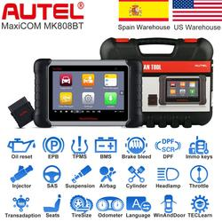 Autel MaxiCOM MK808BT OBD2 Scanner, Autel maxisys Professional Car Diagnostic Tool Auto scaner automotriz scaner automotivo