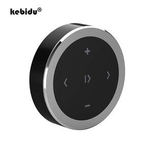 Image 1 - Kebidu araba motosiklet direksiyon müzik çalma uzaktan kumanda kablosuz Bluetooth medya düğmesi iOS/Android telefon için
