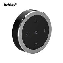 Kebidu車オートバイステアリングホイール音楽再生制御ワイヤレスbluetoothメディアボタンios/android携帯用