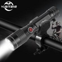 Суперъяркий мощный велосипедный светодиодный фонарь p8 18650