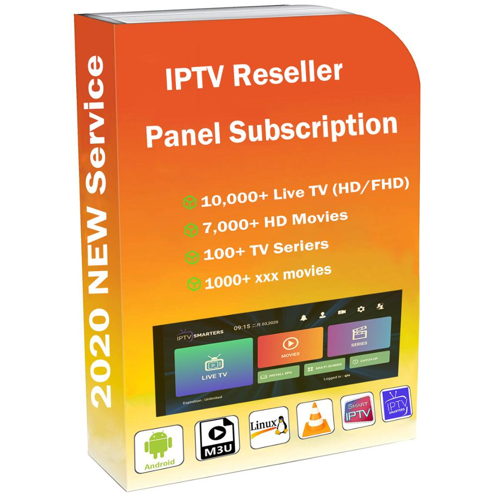 Panel Reseller Iptv Germany Control Panel With Credits Contains 10000+Live For IPTV Resellers IPTV M3U Netherland French Arab