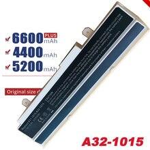 4400mAH beyaz dizüstü pil asus için Eee PC VX6 1011 1015 1015 P 1015PE 1016 1215N 1215B A31-1015 A32-1015 AL31-1015 PL32-1015