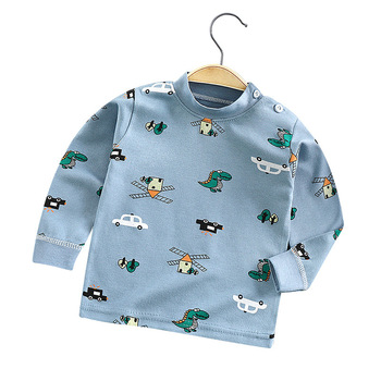 Boys Girls Cartoon Long Sleeve T Shirts Summer Baby Boys Cotton Clothes T Shirts Children Printed Tops Tees Kids Clothing 18M-5T ciciibear children boys shirts spring 2020 cotton kids baby shirts children clothing shirt long sleeve