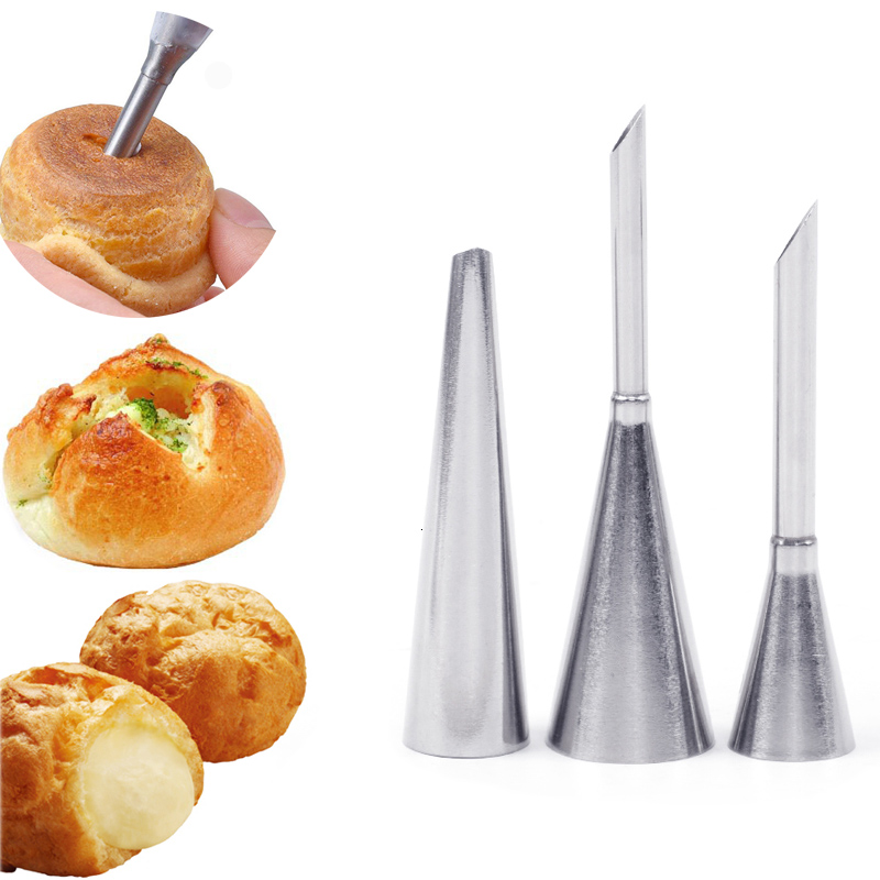 Cream Piping Tip Nozzles Kit