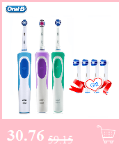 Oral b eb10 crianças cabeças de escova