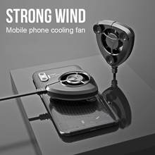 Portable Cooling Fan Gamepad Game Handle Radiator Dingin Ponsel Mini Kipas Pendingin untuk Iphone Samsung Huawei Xiaomi Tablet(China)
