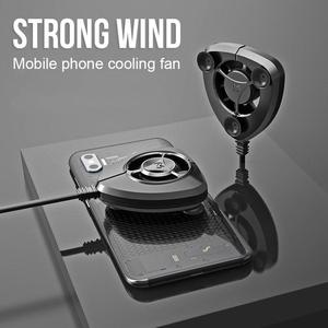 Portable Cooling Fan Gamepad Game Handle Radiator Mobile Phone Cooler Mini Cooling Fans For iPhone Samsung Huawei Xiaomi Tablet(China)