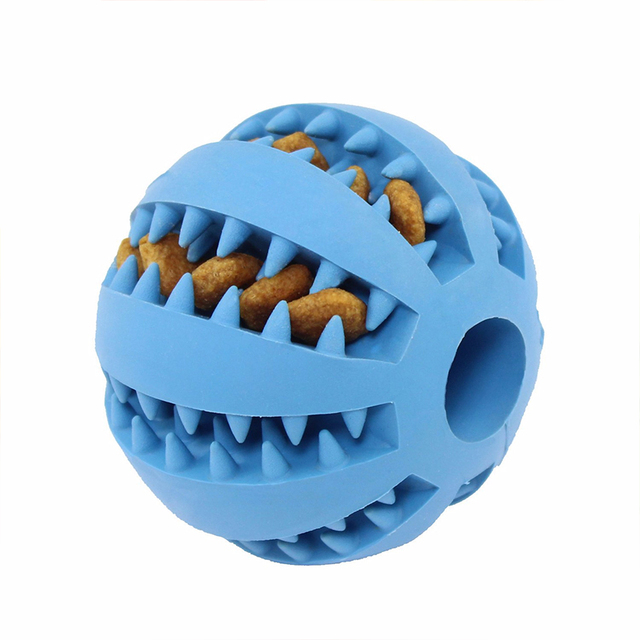 Stretch Rubber Interactive Feeding Ball 8