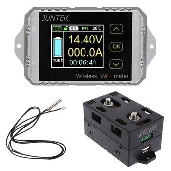 DC 400V 300A Wireless Bi-directional Voltmeter Ammeter Capacity Volt Power Meter Au08 19 Dropship