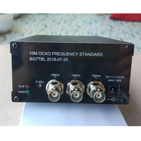 GPSDO, GPS clock, GPS clock, 10M frequency reference, 2 sine waves, 1 square wave output