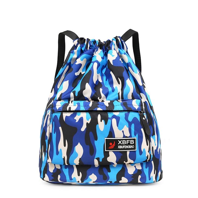 A Basketball Bag Sports Bag Basketball Bag Drawstring Backpack Men's Sports Fitness Backpack Storage Bag