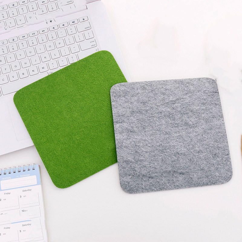 Felt Cloth 200*200*2mm Mouse Pad Mat For Laptop Computer Tablet PC