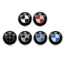 82 мм 74 мм 45 мм хромированная основа Автомобильная эмблема значок капота передний задний логотип багажника для E46 E39 E38 E90 E60 Z3 Z4 X3 X5 X6 51148132375