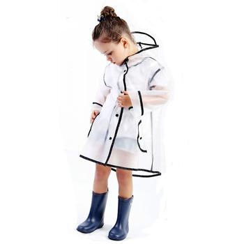 Przezroczysty EVA dziecięcy płaszczyk przeciwdeszczowy wodoodporny płaszcz przeciwdeszczowy dla dzieci zewnętrzna kurtka przeciwdeszczowa wiatroodporny Poncho sprzęt przeciwdeszczowy wysokiej jakości tanie i dobre opinie Odzież przeciwdeszczowa A-012 Single-osoby przeciwdeszczowa Płaszcze Poliester Dorosłych Turystyka Chłopcy Chlidren