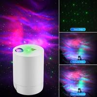 Neue Nacht Licht Sternen Himmel Projektor Wasser Welle Lampe LED Stern Musik Rotierenden Fernbedienung Bluetooth Schlafzimmer Nacht Lampe