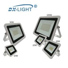 Светодиодный инженерно-светильник мощностью 10 Вт, 20 Вт, 30 Вт, 50 Вт 100 Вт Светодиодный светильник IP68 Водонепроницаемый 220 V-240 V Светодиодный точечный светильник отражатель светодиодный уличный светильник ing светодиодный