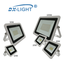 LED Engineering Light 10W 20W 30W 50W 100W Work Light IP68 Waterproof 220V-240V LED Spotlight Reflector LED Outdoor Lighting led cheap DX-LIGHT Wall Mounted 15-30square meters 220-240V Stage Lighting Effect Aluminum Contemporary Spray Paint MW-Flood-1