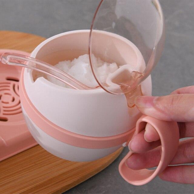 Ящик для приправ 4 шт ящик хранения соли и сахара домашней кухни