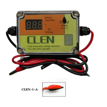 CLEN nuevo modelo 400Ah bd400 desulfador de batería de plomo ácido 12V 24V 36V 48V, con clip,