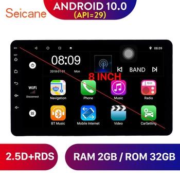 Seicane Universal 8 pulgadas Android 10,0 RAM 2G Headunit Radio GPS Navi unidad reproductor para Nissan TOYOTA Kia RAV4 Honda VW Hyundai