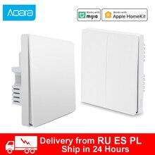 Xiaomi wall switch ZigBee Aqara Wireless Switch Key Smart home Zero Line Fire Wire Light Switch Remote Control For Mijia Homekit