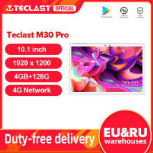 Teclast M30 Pro 10.1 Inch Tablet P60 8 Core 4Gb Ram 128Gb Rom Android 10 Tabletten Pc 1920X1200 Ips 4G Call Dual Wifi Gps Tablette